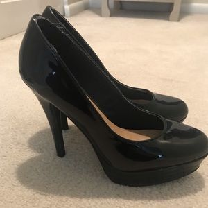 Lauren Conrad Black Platform Stiletto Pumps